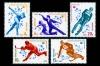 СССР 1980. 5033-5037. XIII зимние Олимпийские игры в Лейк-Плэсиде.