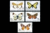 СССР 1986. 5705-5709. Бабочки.