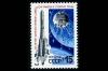 СССР 1989. 6037. 30-летие запуска ракеты к Луне.